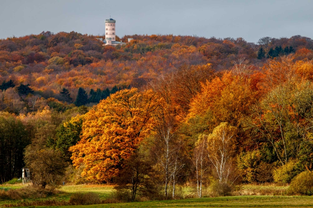 Jagdschloss Granitz im Herbst